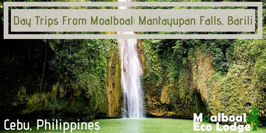 Mantayupan Falls, Barili, Cebu, Philippines, Day trip from Moalboal, things to do in Moalboal, Cebu's highest waterfall, chasing waterfalls, bucket list in Cebu, how to get to Mantayupan Falls, when is the best time to visit Mantayupan Falls, Moalboal Eco Lodge